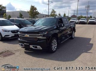 Used 2020 Chevrolet Silverado 1500 High Country - Leather Seats for sale in Bolton, ON