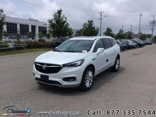 New 2020 Buick Enclave - Leather Seats -  Premium for sale in Bolton, ON