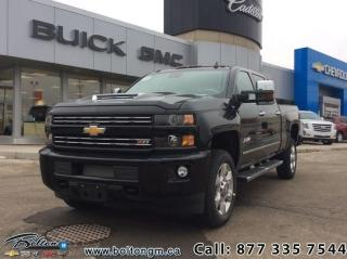 New 2019 Chevrolet Silverado 2500 HD LTZ - Navigation for sale in Bolton, ON