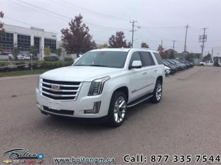 Used 2020 Cadillac Escalade Premium Luxury - Leather Seats for sale in Bolton, ON