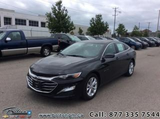 Used 2019 Chevrolet Malibu LT for sale in Bolton, ON