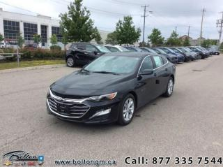 New 2019 Chevrolet Malibu LT for sale in Bolton, ON