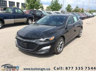 Used 2019 Chevrolet Malibu RS -  Android Auto -  Apple CarPlay for sale in Bolton, ON