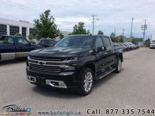 Used 2019 Chevrolet Silverado 1500 High Country - Leather Seats for sale in Bolton, ON