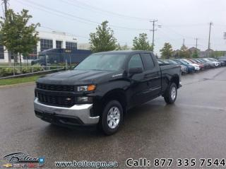 New 2019 Chevrolet Silverado 1500 Work Truck -  1WT Package for sale in Bolton, ON