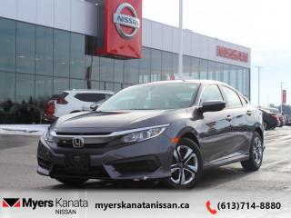 Used 2017 Honda Civic Sedan LX  - Local - Trade-in - $113 B/W for sale in Kanata, ON