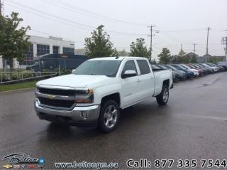 New 2018 Chevrolet Silverado 1500 1LT - Heated Seats - $336 B/W for sale in Bolton, ON