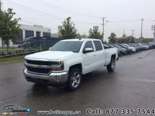 Used 2018 Chevrolet Silverado 1500 1LT - Heated Seats - $336 B/W for sale in Bolton, ON