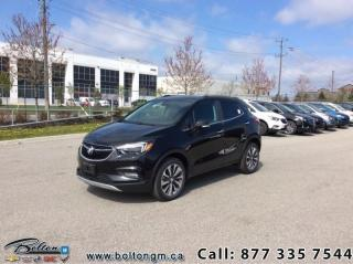 New 2019 Buick Encore Essence - Leather Seats - Navigation for sale in Bolton, ON