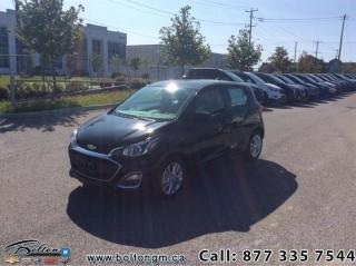 Used 2019 Chevrolet Spark 1LT CVT - Android Auto -  Apple CarPlay for sale in Bolton, ON