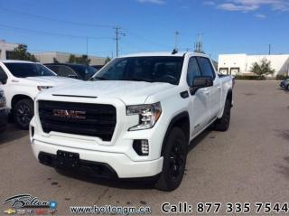 New 2020 GMC Sierra 1500 ELEVATION for sale in Bolton, ON