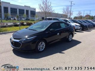 Used 2019 Chevrolet Cruze LT - Apple CarPlay -  Android Auto for sale in Bolton, ON