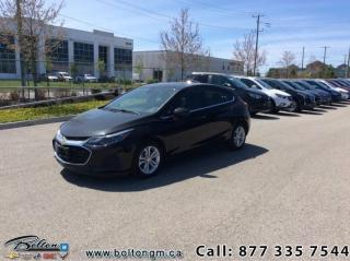 New 2019 Chevrolet Cruze LT - Heated Seats -  Bluetooth for sale in Bolton, ON