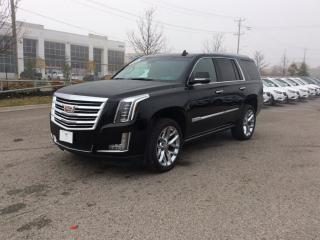 New 2019 Cadillac Escalade Platinum - Leather Seats for sale in Bolton, ON
