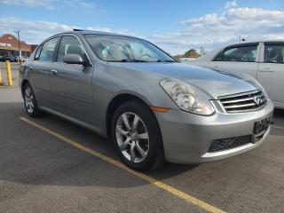 Used 2005 Infiniti G35 Sedan 4dr Auto Luxury AWD for sale in Scarborough, ON