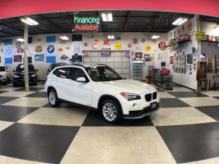 Used 2015 BMW X1 XDRIVE AUT0 AWD NAVI LEATHER 72K for sale in North York, ON