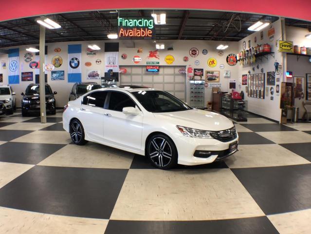 2016 Honda Accord Sedan TOURING AUT0 NAVI LEATHER SUNROOF BACKUP CAMERA