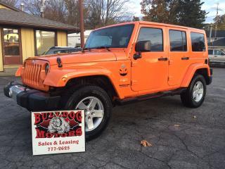 Used 2012 Jeep Wrangler Sahara for sale in Glencoe, ON