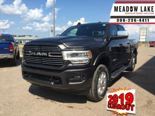 New 2019 RAM 3500 Laramie  - Leather Seats - $459 B/W for sale in Meadow Lake, SK