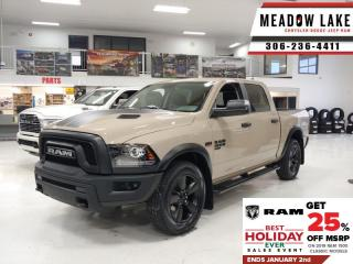 New 2019 RAM 1500 Classic Warlock  - HEMI V8 - Heated Seats - $265 B/W for sale in Meadow Lake, SK