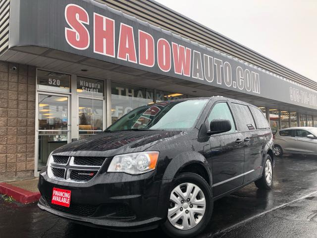2018 Dodge Grand Caravan SXT -3.6L -Flex Fuel -Stow 'n Go Seating