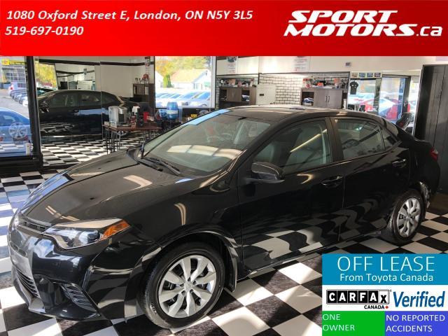 2016 Toyota Corolla LE+Camera+Bluetooth+Xenons+Accident Free