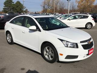 Used 2014 Chevrolet Cruze 2LT ** HTD LEATH, SUNROOF, BACKUP CAM ** for sale in St Catharines, ON