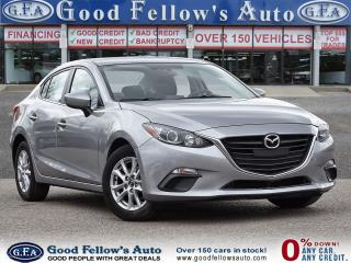 Used 2015 Mazda MAZDA3 GS MODEL, 4CYL 2.0L, SKYACTIV, REARVIEW CAMERA for sale in Toronto, ON