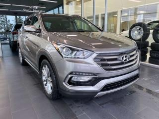 Used 2018 Hyundai Santa Fe Sport SE AWD, ACCIDENT FREE, HEATED STEERING WHEEL, POWER HEATED LEATHER SEATS, KEYLESS IGNITION for sale in Edmonton, AB