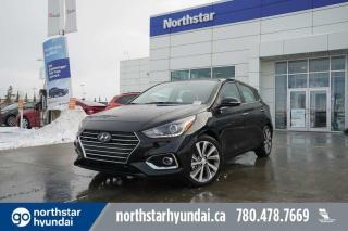 New 2020 Hyundai Accent Ultimate: APPLE CARPLAY/PROXY KEY/SUNROOF for sale in Edmonton, AB