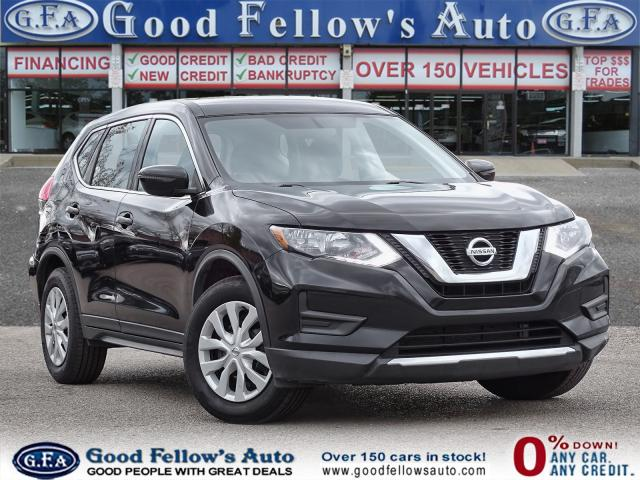 2017 Nissan Rogue S MODEL, REARVIEW CAMERA, 2.5 LITER 4CYL