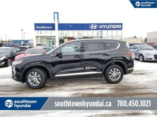 New 2020 Hyundai Santa Fe Essential - 2.4L Adaptive Cruise, Lane Keep Assist/Forward Collision Avoidance, Back Up Cam, Heated Seats/Wheel, Apple CarPlay for sale in Edmonton, AB