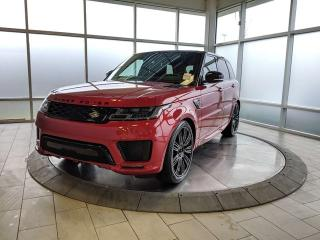 New 2020 Land Rover Range Rover Sport HSE DYNAMIC P525 for sale in Edmonton, AB