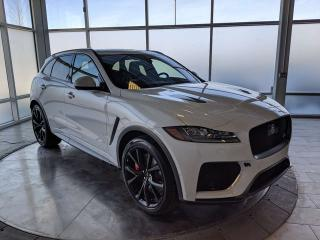 New 2020 Jaguar F-PACE SVR for sale in Edmonton, AB