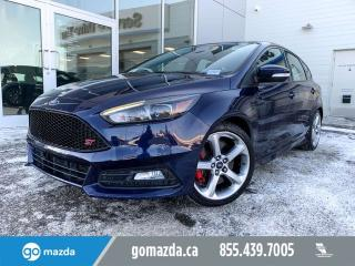 Used 2017 Ford Focus ST 2 SETS OF TIRES/WHEELS SUNROOF EYE CATCHER for sale in Edmonton, AB