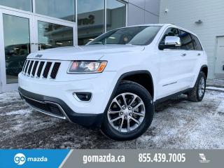 Used 2014 Jeep Grand Cherokee LIMITED BACK UP CAM LEATHER SUNROOF for sale in Edmonton, AB