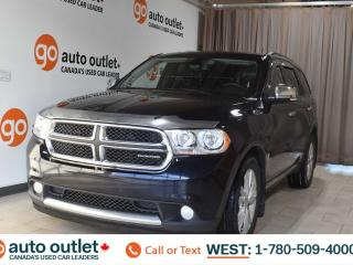 Used 2011 Dodge Durango Crew, 5.7L V8, Awd, Third row 7 passenger seating, Navigation, Heated leather seats, Backup camera, Sunroof, Bluetooth for sale in Edmonton, AB