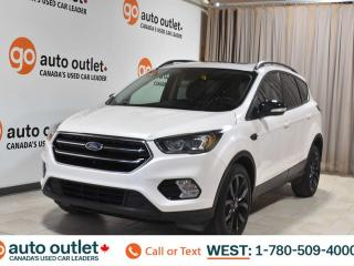 Used 2017 Ford Escape Titanium, 2.0L I4, 4wd, Heated cloth/leather seats, Heated steering wheel, Navigation, Backup camera, Sunroof/Moonroof, Bluetooth for sale in Edmonton, AB