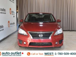 Used 2013 Nissan Sentra Sv, Fwd, 1.8L I4, Cloth seats for sale in Edmonton, AB