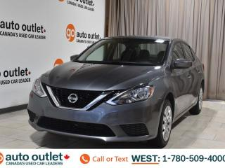 Used 2016 Nissan Sentra S, 1.8L I4, Fwd, 6 speed manual, Cloth seats for sale in Edmonton, AB