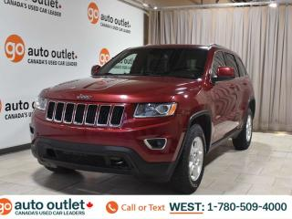 Used 2015 Jeep Grand Cherokee Laredo, 3.6l V6, 4wd, Cloth seats, Bluetooth for sale in Edmonton, AB
