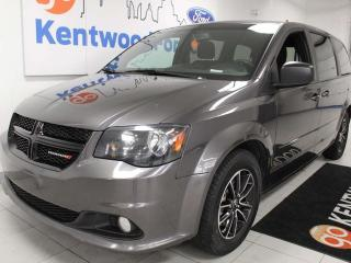 Used 2016 Dodge Grand Caravan SXT FWD with power drivers seat, rear climate control, rear DVD entertainment and a back up cam for sale in Edmonton, AB