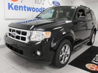 Used 2010 Ford Escape XLT 4WD with power seats and keyless entry for sale in Edmonton, AB