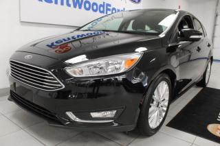 Used 2018 Ford Focus 3 MONTH DEFERRAL! *oac | Titanium | Heated Leather | Sunroof | Hatchback for sale in Edmonton, AB
