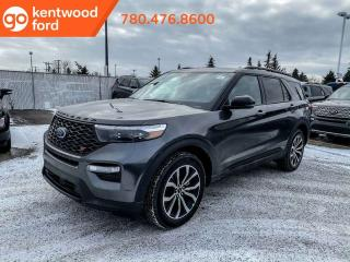 New 2020 Ford Explorer ST 400A, 3.0L Ecoboost, Power Heated/Cooled Seats, Heated Steering Wheel, Lane Keeping System, Remote Keyless Entry, Reverse Camera System, Navigation, Moonroof, Technology Package, Pre Collision Assi for sale in Edmonton, AB