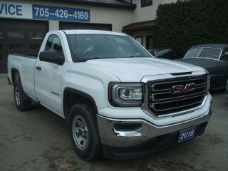 Used 2018 GMC Sierra 1500 Reg. Cab , 8ft. Box, 5.3L V8, 2WD for sale in Beaverton, ON