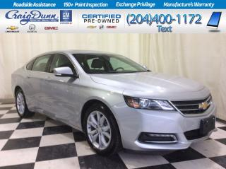 Used 2019 Chevrolet Impala * LT V6 * HEATED SEATS * SUNROOF * for sale in Portage la Prairie, MB