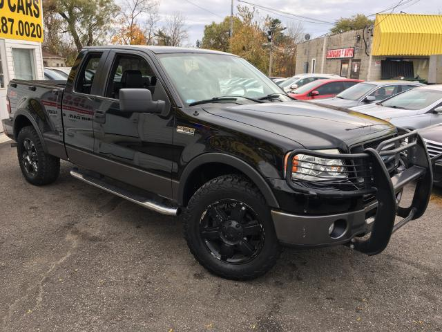2006 Ford F-150 FX4/ EXT CAB/ 4X4/ LEATHER/ PWR GROUP/ ALLOYS!