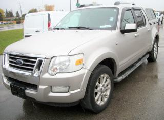 Used 2007 Ford Explorer Sport Trac LIMITED for sale in Stratford, ON