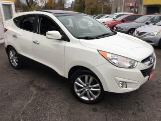 Used 2011 Hyundai Tucson LTD ED/ AWD/ NAVI/ CAM/ LEATHER/ SUNROOF/ ALLOYS! for sale in Scarborough, ON